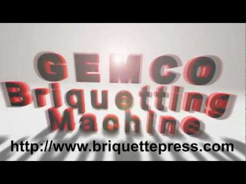 Briquette Machine. Briquette Press. Biomass Briquetting Machine. Complete Biomass Briquetting Plant