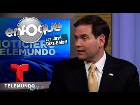 Enfoque | Senador Marco Rubio habla sobre su supuesto futuro en la Casa Blanca
