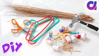 15 Genius Best out of waste craft ideas to make in 5 minutes | Artkala 478