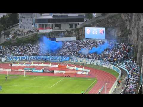 Armada Rijeka - 26 years of choreo, smoke, flares and support!!