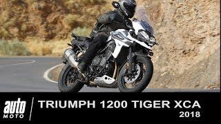 2018 Triumph Tiger 1200 XCA ESSAI POV AUTO-MOTO.COM