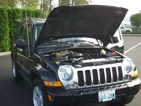 2006 Jeep Liberty Limited 4X4 Black Art Gamblin Motors Tim Smith- V1837A