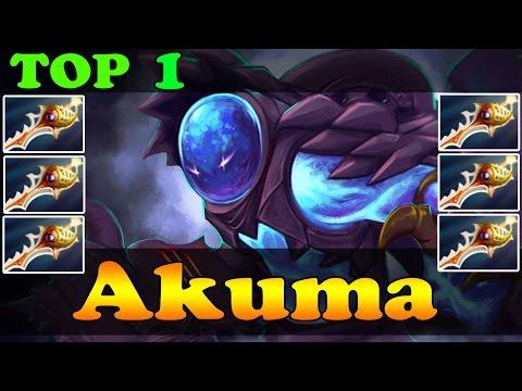 Dota 2 - Akuma TOP 1 Arc Warden in Dotabuff Vol 2 - 2 Games with 3 Divine Rapiers Each - Ranked