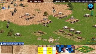C2T2, C2T3 - AoE 22 Random DC, Beo vs HMn, Nhất Ngày 19-1-2019