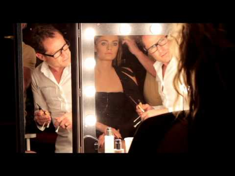 Vogue Paris September 2010 beauty editorial - Behind the scenes