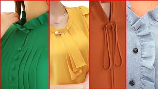 Top Trendy & Easy Neck Designs For Girls Casual Wear Dresses | Simple Necklines Ideas For Summer