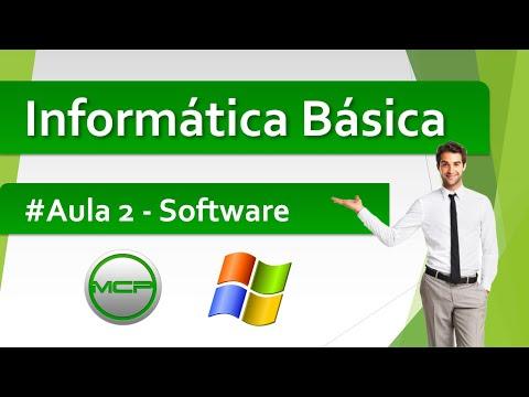 Curso Informática Básica - Aula 2 - Software (HD)