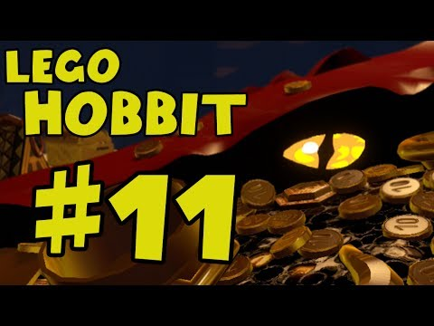 Lego The Hobbit Walkthrough Part 11 - Out of the Frying Pan, Into the Fire