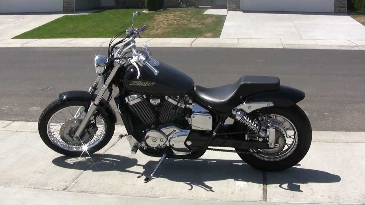 2005 Honda Shadow Walk Around Custom Cobra Streetrod Exhaust Youtube
