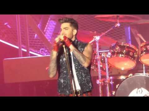 Queen Adam Lambert  Radio Gaga  Live@Forum Milano 10 2 2015