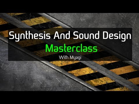 Synthesis and Sound Design Course