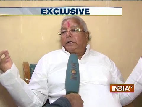 India TV Exclusive: Lalu Prasad Yadav tells the reason of delay in Janta Parivar merger