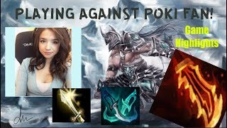 FDDM03-PLAYING AGAINST POKIMANE FAN! CAN I WIN? GAME HIGHLIGHTS