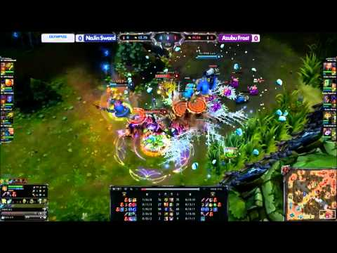 LOL Korean All-Stars Team Fanmade (2013 All-Stars, Sanghai)