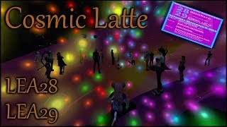 Cosmic Latte art event at Lea28 and Lea29
