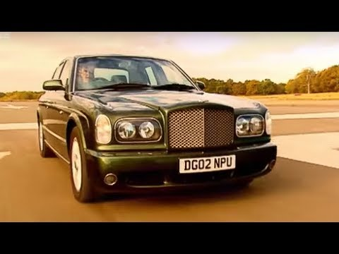 Bentley Arnage T review - Top Gear - BBC