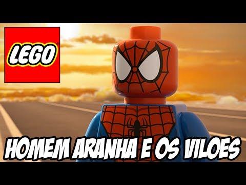 Lego Marvel Super Heroes - Homem Aranha e seus Vilões