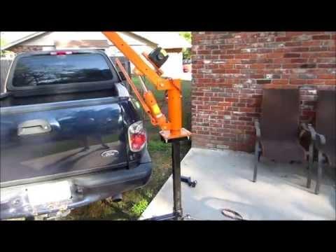 homemade bumper crane