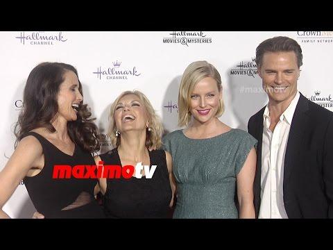 Andie MacDowell, Sarah Smyth, Teryl Rothery, Dylan Neal | Hallmark TCA Winter 2015 | Cedar Cove