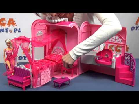 Rozkładany szkolny domek Barbie - www.MegaDyskont.pl - sklep z zabawkami