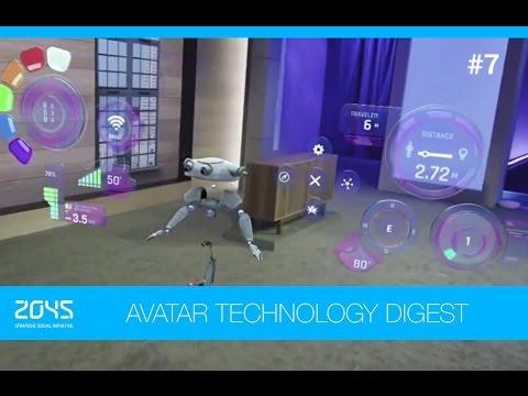 #7 Avatar Technology Digest / HoloLens, artificial heart, Hands Omni glove, telepresence robot etc.