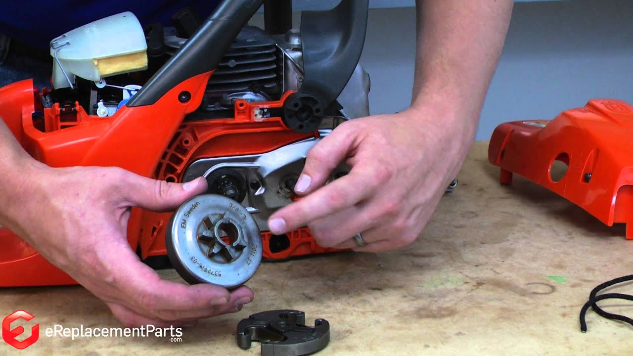 Chain Saw Clutches : How to replace the clutch on a chainsaw youtube