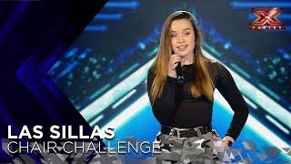 Lara deja boquiabierto a Risto Mejide cantándole a los ojos su 'Rise Up' | Sillas 1 | Factor X 2018