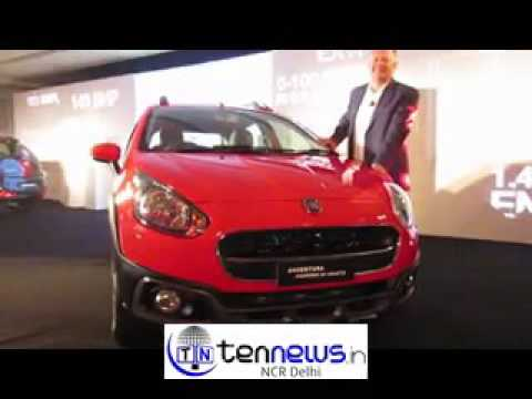FIAT LAUNCHES SPORT CAR INDIA'S FASTEST SUPERHOT HATCH ABARTH PUNTO & AVVENTURA JUST RS 9.95LAKHS