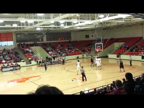 Connor Schroeder Miller School 2015 17pts vs Oak Hill - 02/04/2014