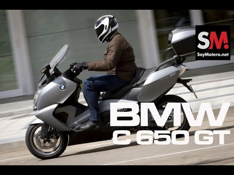 Prueba BMW C650GT SE 2014