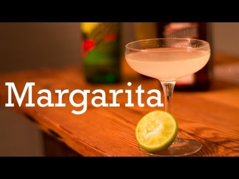 How to make a classic Margarita cocktail at Home