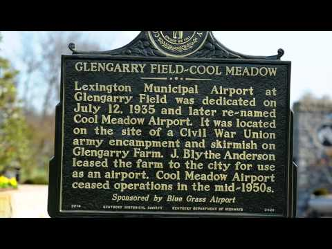 Unveiling History, Blue Grass Airport