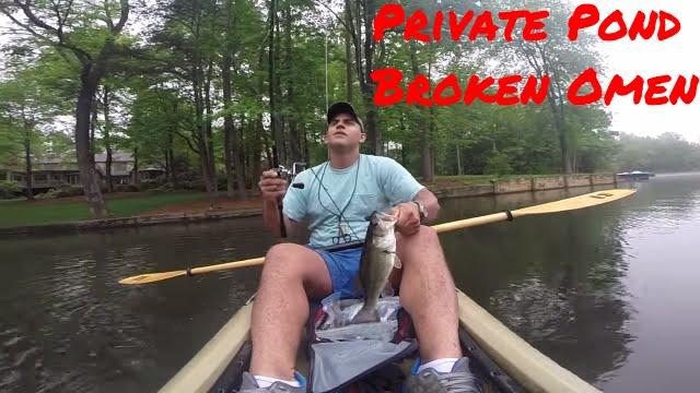 Got1Fishing   Kayak Bass Fishing   Private Lake