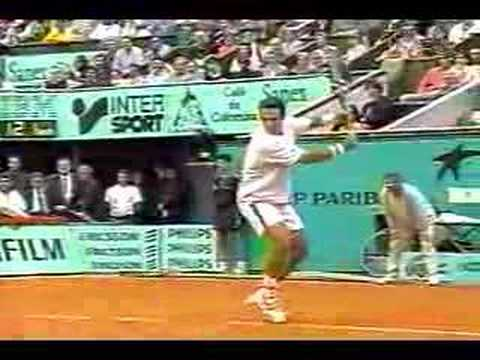 Corretja Backhand