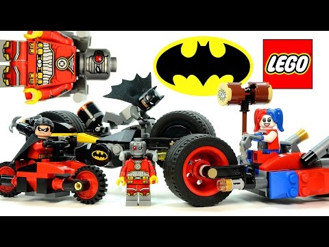 LEGO® Batman™ Gotham City Cycle Chase 76053 + Robin & Redbird Cycle DC Comics™ Super Heroes
