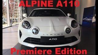 Alpine A110 2017 Premiere Edition English review