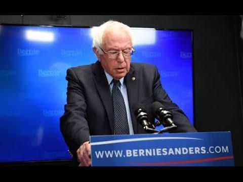 Bernie Sanders Speech Details Future Plans