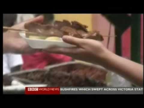 Peru Mucho Gusto - Feria Gastronómica (Food Fair) - BBC Report & Home Clips
