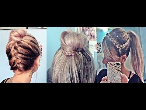 3 penteados para o verão - Por Pamella Rocha