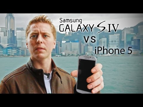 Samsung Galaxy S4 vs iPhone 5 Drop Test!