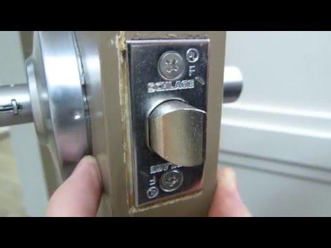 Lockset removal