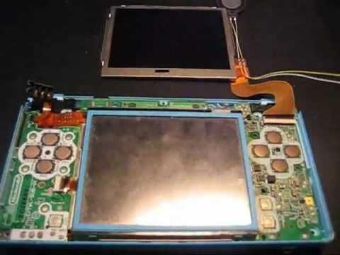 DSi Top Screen not working - first thing to check!