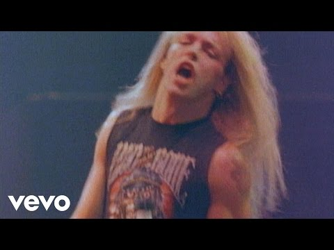 Poison - Your Mama Don't Dance video