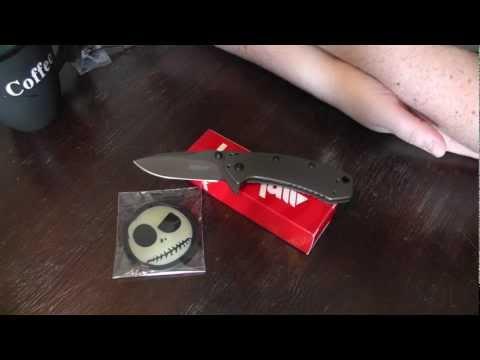 Kershaw Tools 1555 Ti Cryo Rick Hinderer EDC Gear Werkzeug Multitool