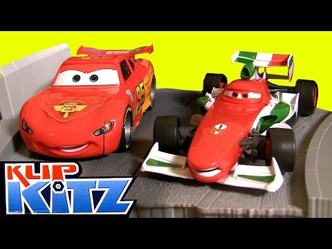 Klip Kitz Cars2 Race To The Finish Line Deluxe Kit Clip Lock Build Customize by BluCollection