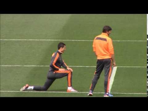 Entrenamiento de Cristiano Ronaldo | Diario Bernabéu