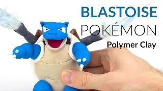 Blastoise Pokemon – Polymer Clay Tutorial