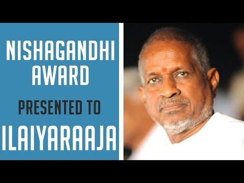 Ilaiyaraaja Receives Nishagandhi Award | Ilaiyaraaja Official