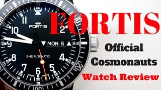 (4K) FORTIS Official Cosmonauts Automatic Men
