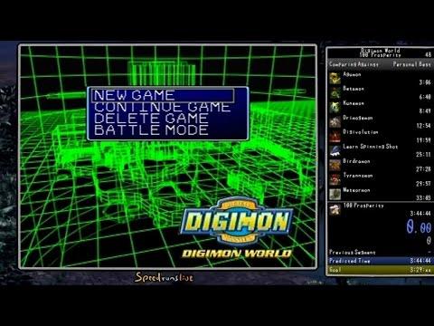 Digimon World - 100 Prosperity Speedrun (real Time Attack) In 3:26:01 [world Record] video